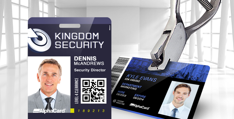 How to Slot Punch Plastic ID Cards