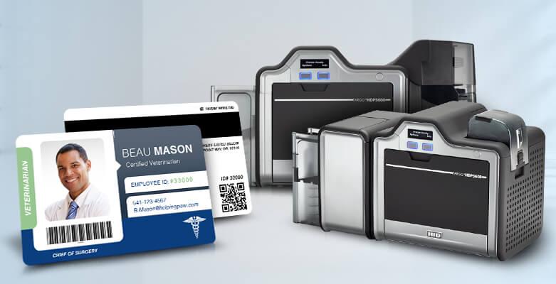Reverse Transfer ID Card Printers - Fargo HDP5600