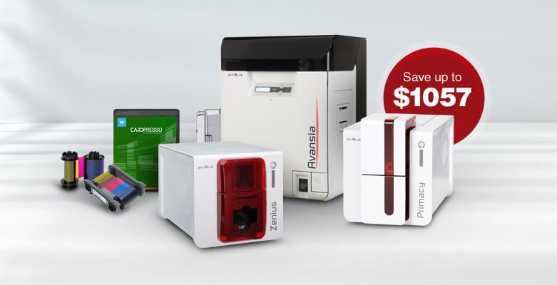 Evolis ID Card Printer Promotion Featuring Zenius, Primacy, Avansia