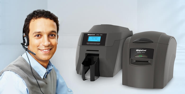 Technical Support for AlphaCard PRO ID Card Printers