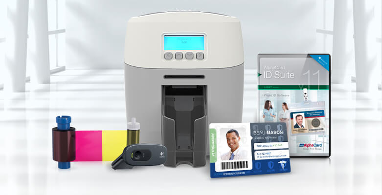 New Magicard 600 ID Card Printer, Now at AlphaCard