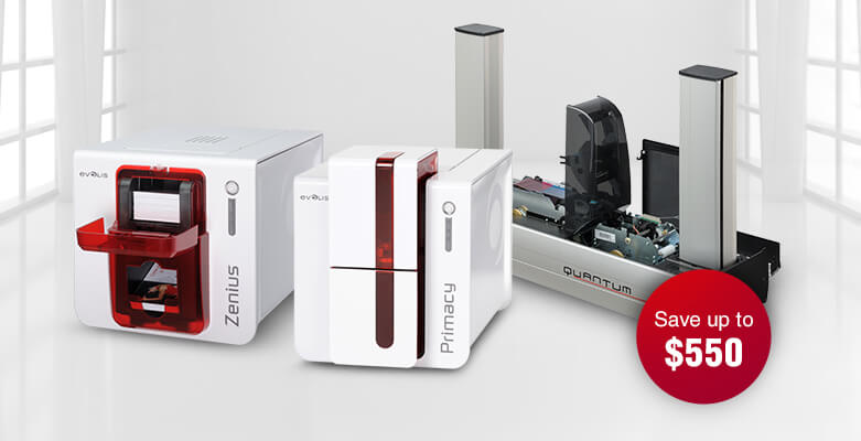 Save Big with Evolis Printer Rebates at AlphaCard
