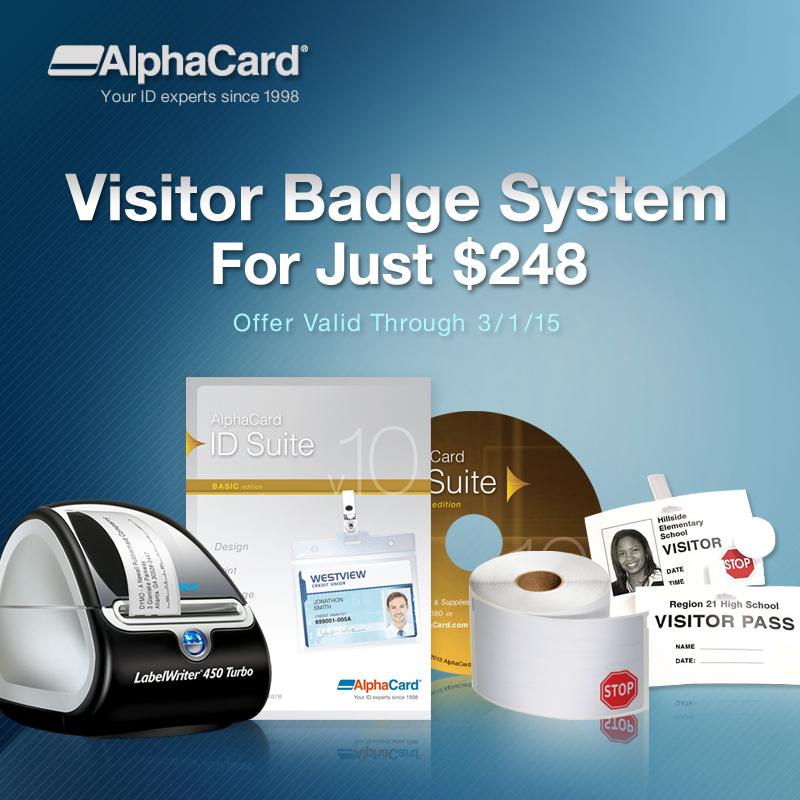 AlphaCard Blog - Visitor Management System for Only $248!