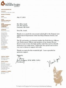 Thank You Letter from SDHS President Gary Weizman- JPEG for Blog Post