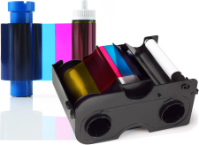 Color ribbon and cartridge