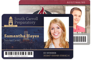 Id card template gallery id card design resources for University id card template