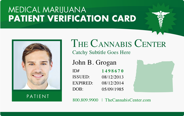 medical alert card template - medical marijuana grower seller doctor retail id cards