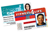 Gym & Health Club Cards