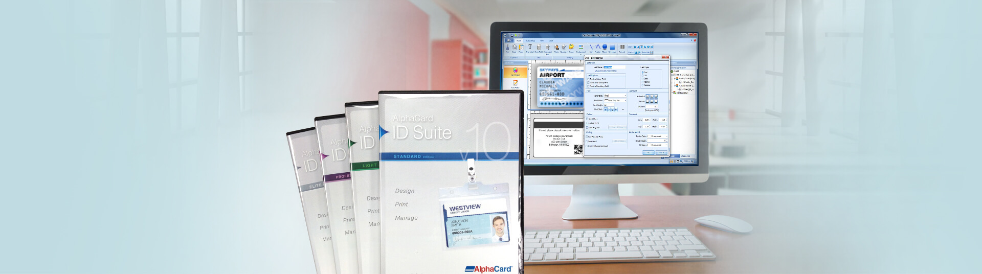 Identification Card Software for Timekeeping