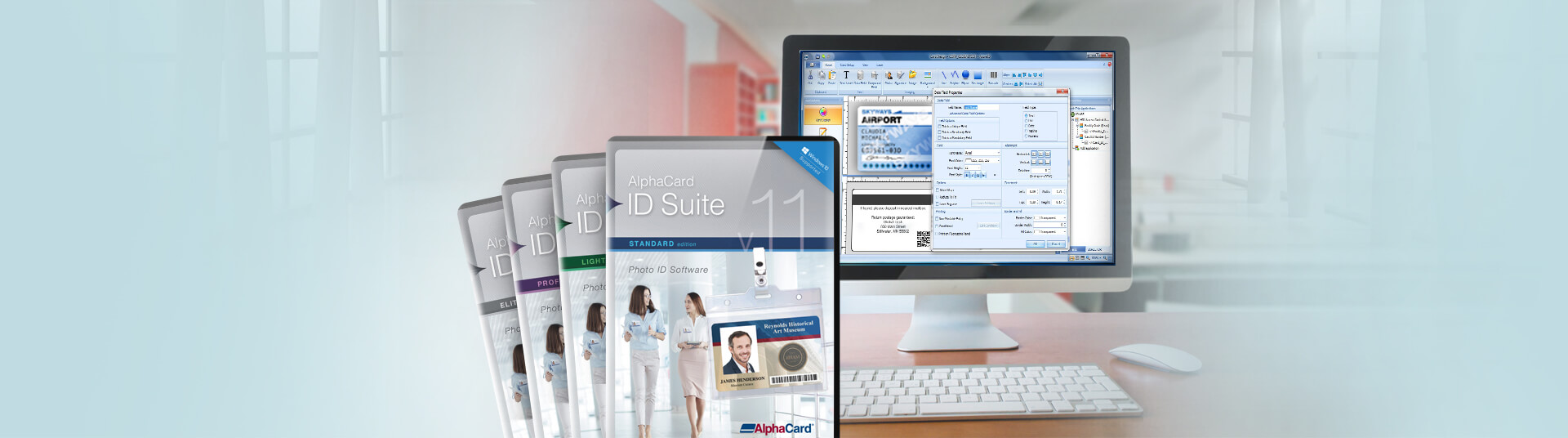 Id Card Alphacard Software Alphacard Card Software Id Id