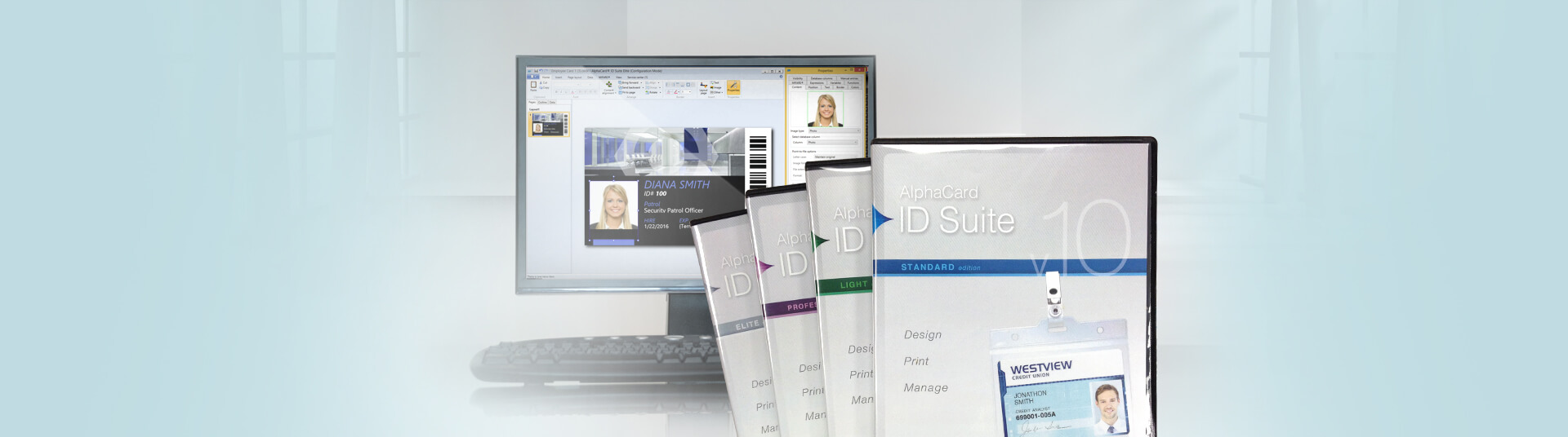 Identification Card Software for Access Control
