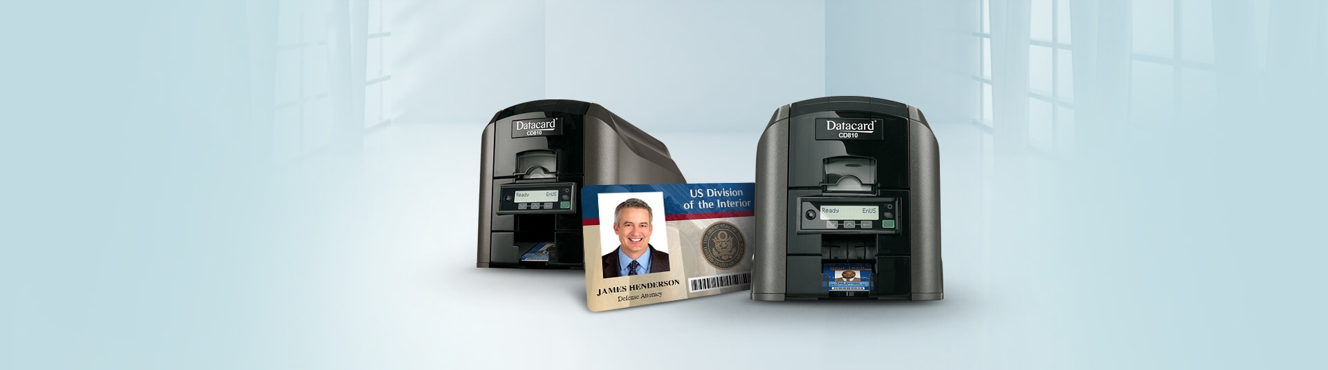 Entrust Datacard CD810 ID Card Printers