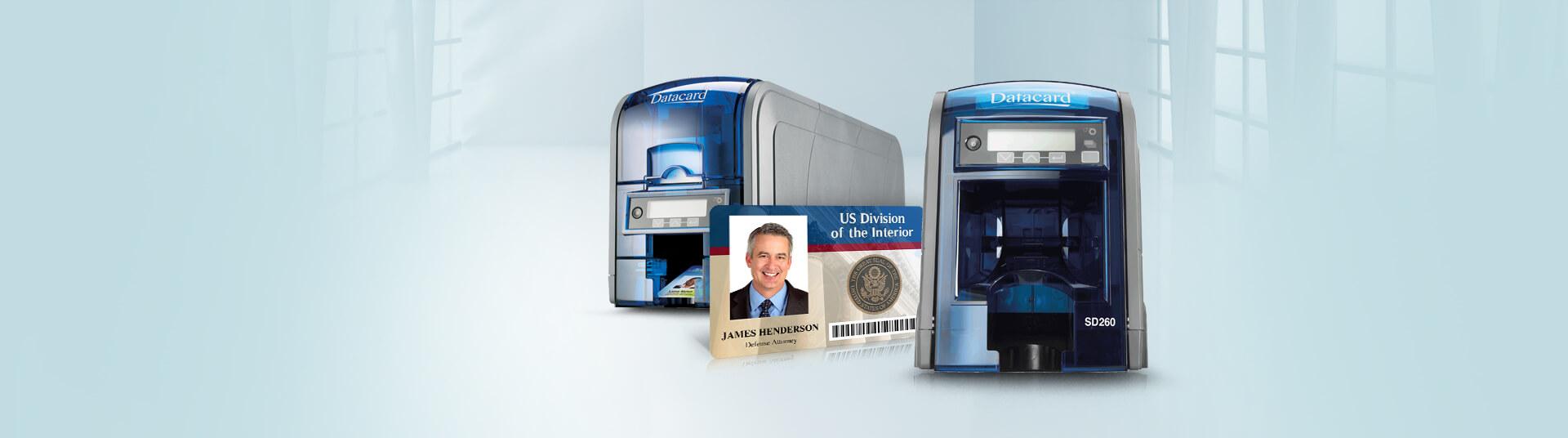 Datacard SD260 ID Card Printers