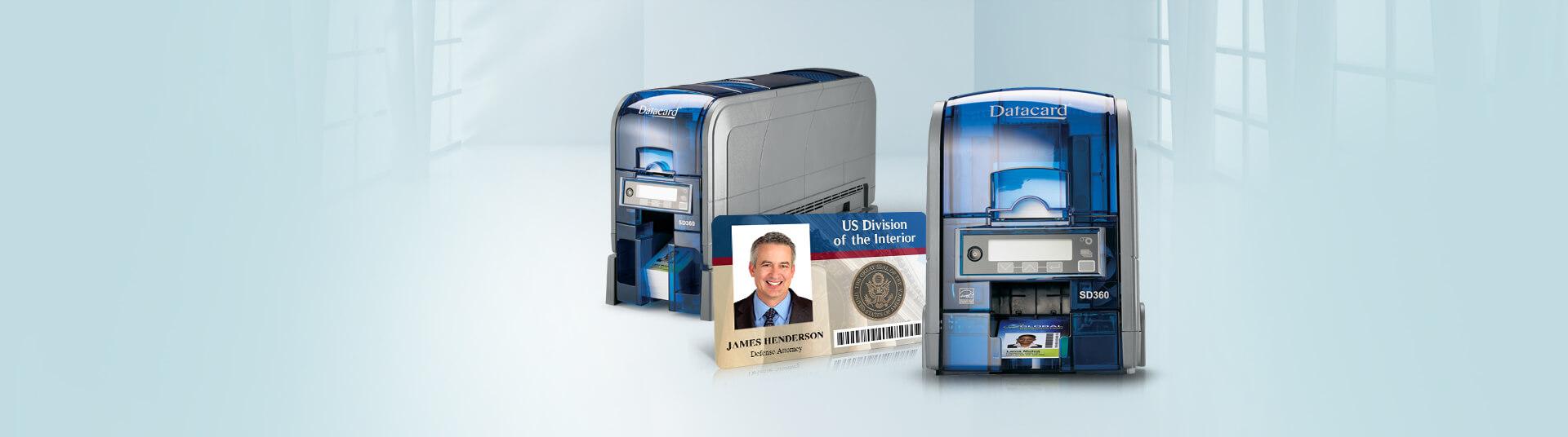 Datacard SD360 ID Card Printers