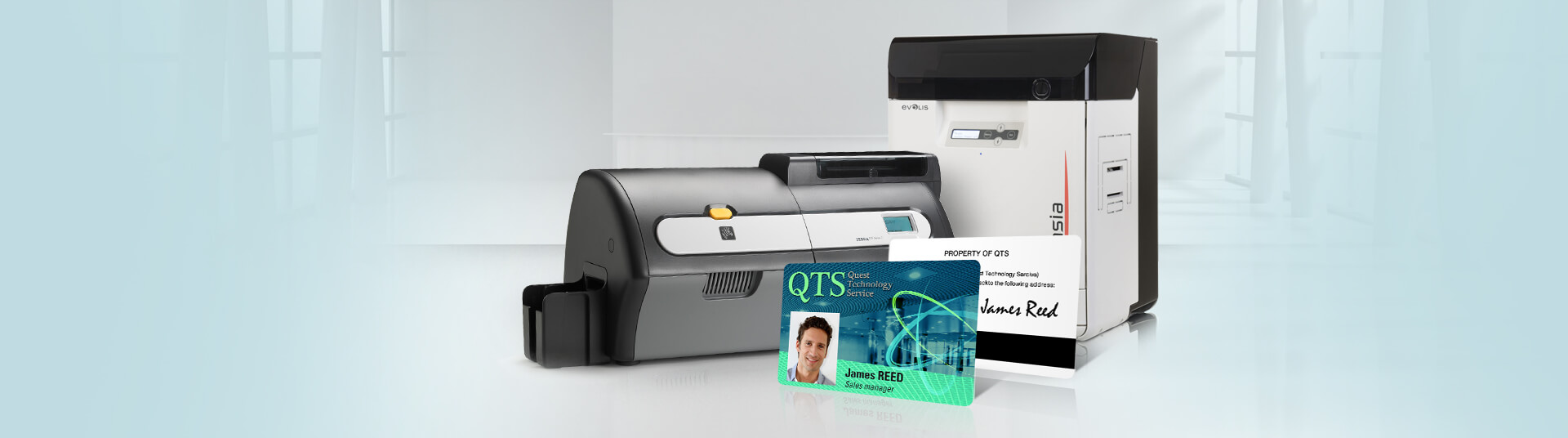 Printers Dual-sided Alphacard Card Id