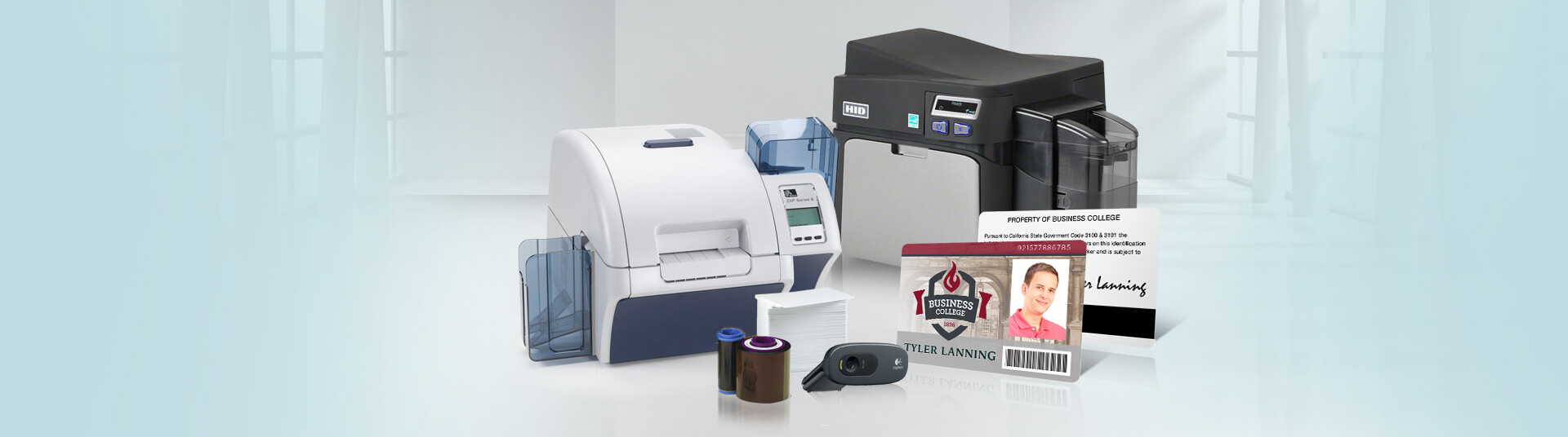 Types of PVC Card Printers