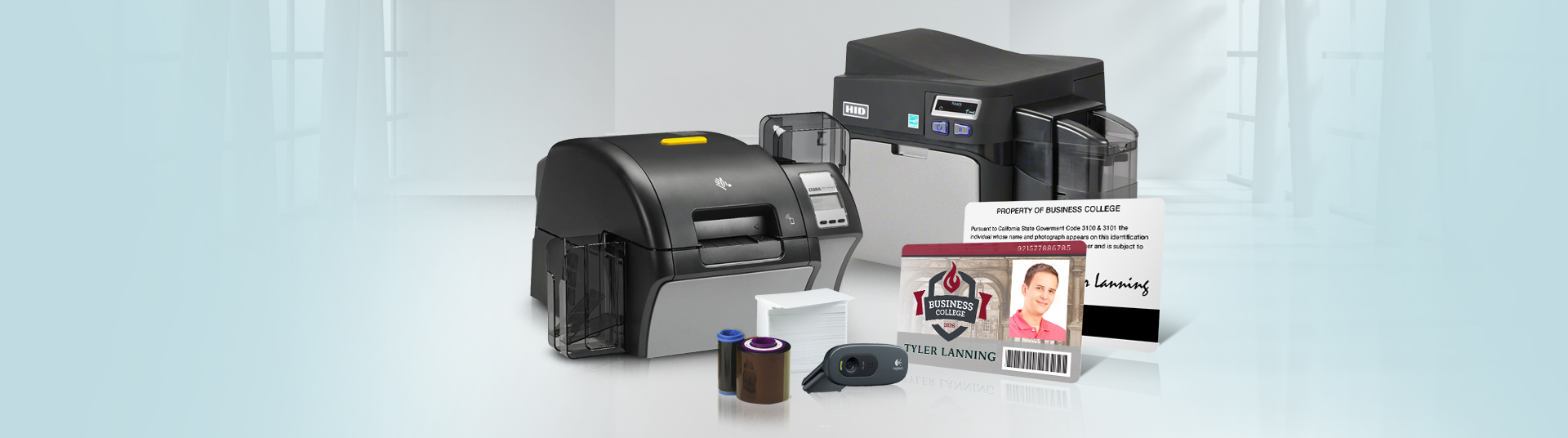 Dual-Sided ID Card Systems