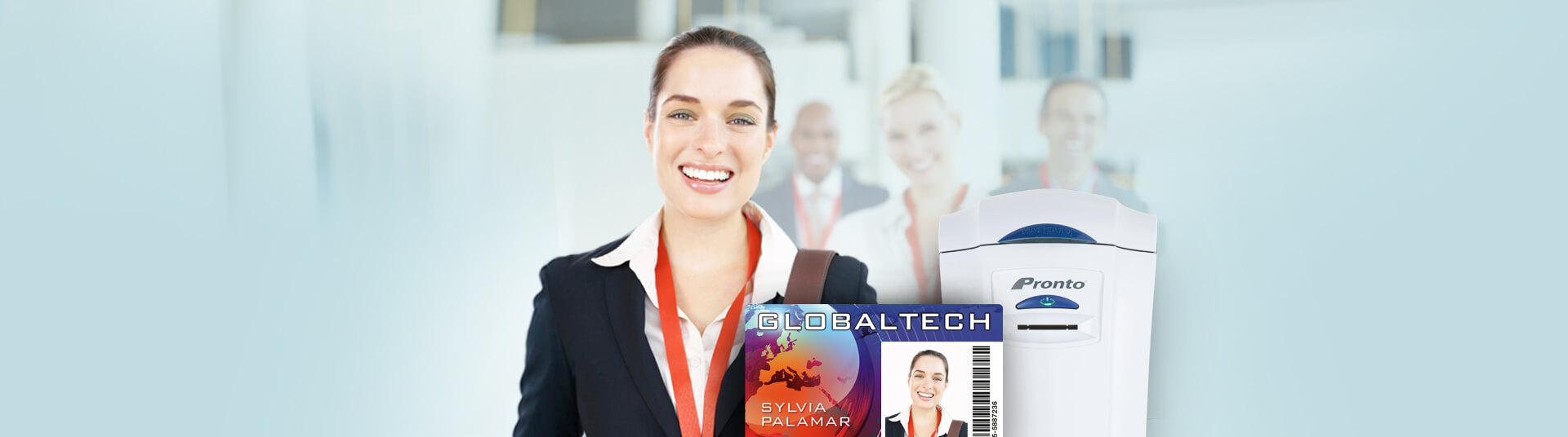 Employee ID Badge System