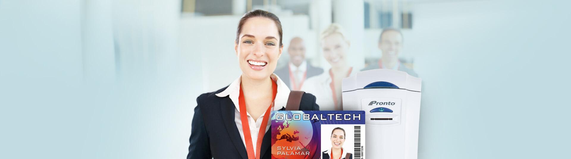 employee id badge system alphacard
