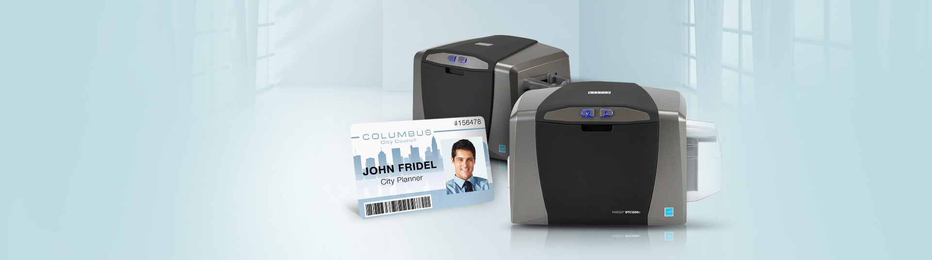Fargo DTC1250e ID Card Printers