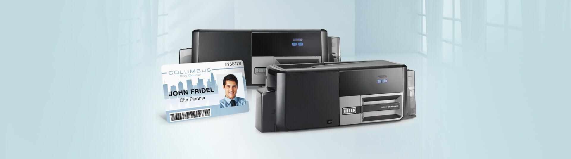 Fargo DTC5500LMX ID Card Printers
