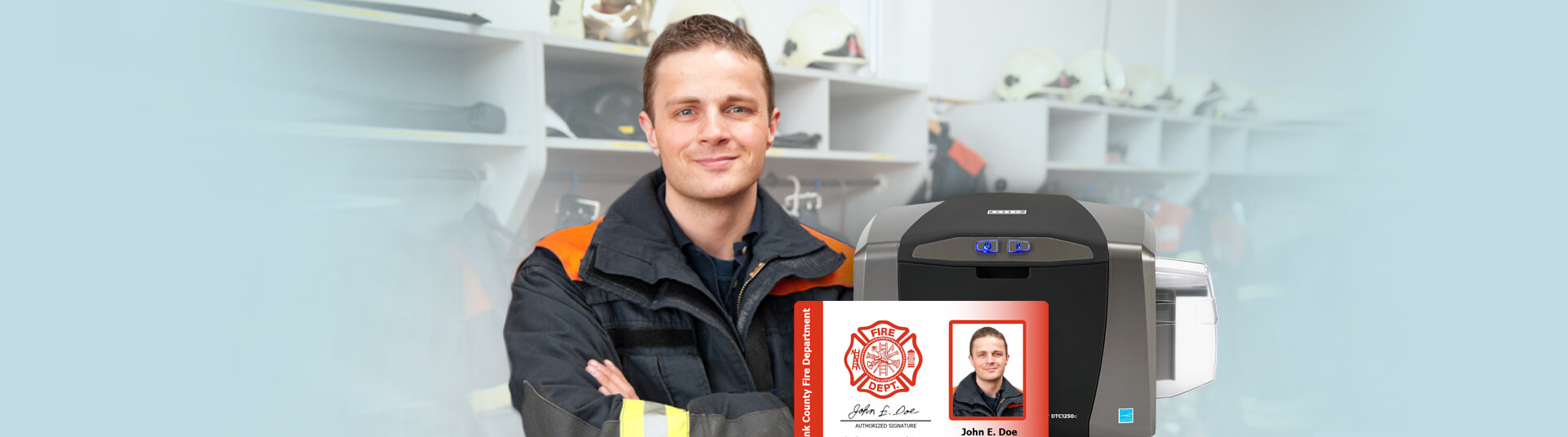 Fire Department ID Cards