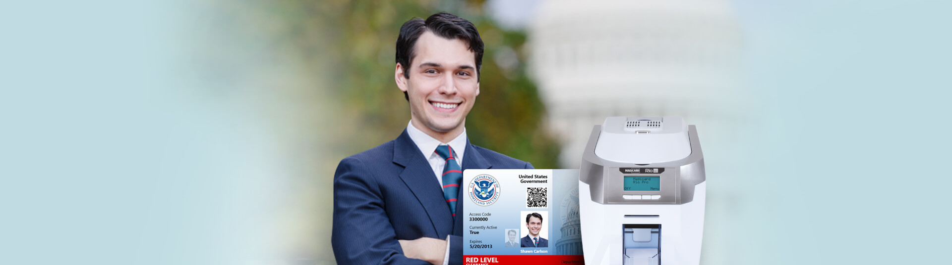 Government ID Cards for Access Control