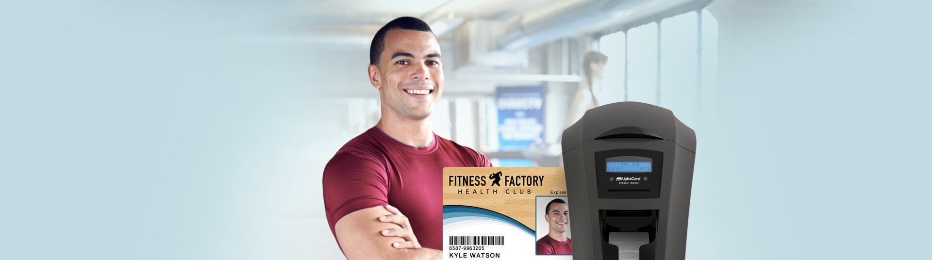 Gym & Health Club Cards