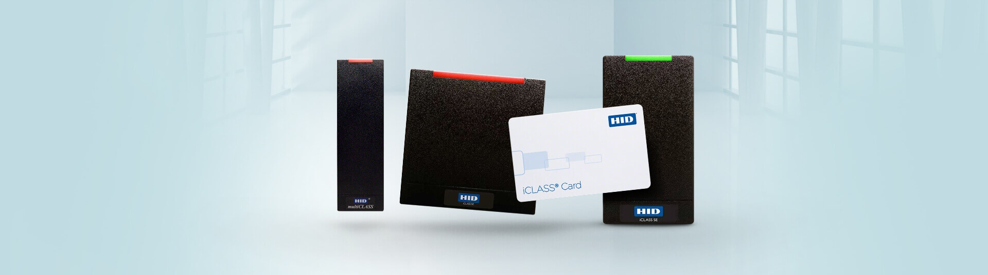 HID iCLASS Smart Card Readers