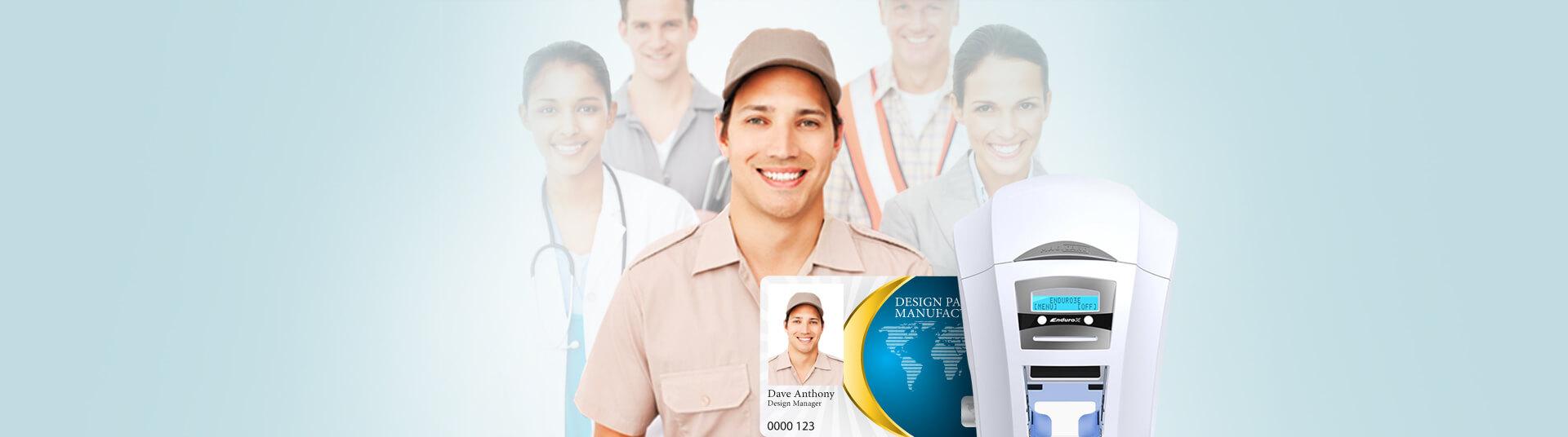 Hospital Visitor ID Badges