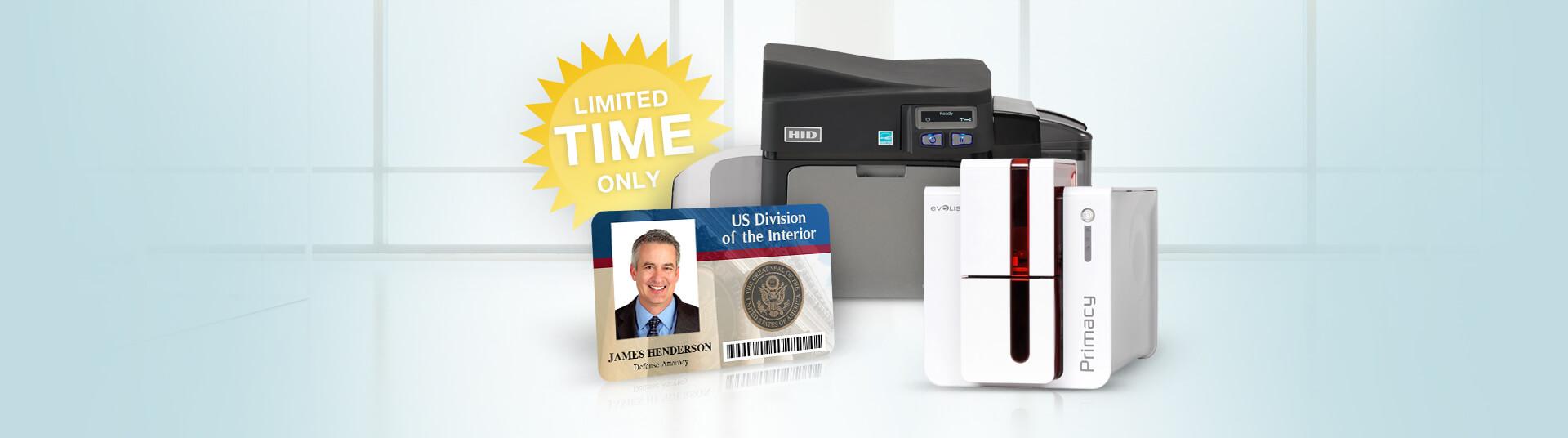 ID Card Printer Rebate Offers
