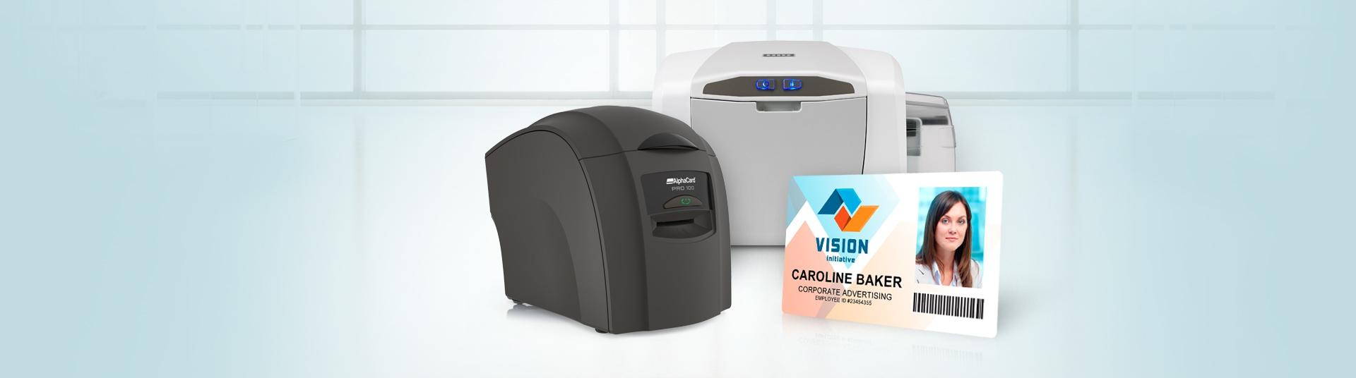 Single-Sided ID Card Printers