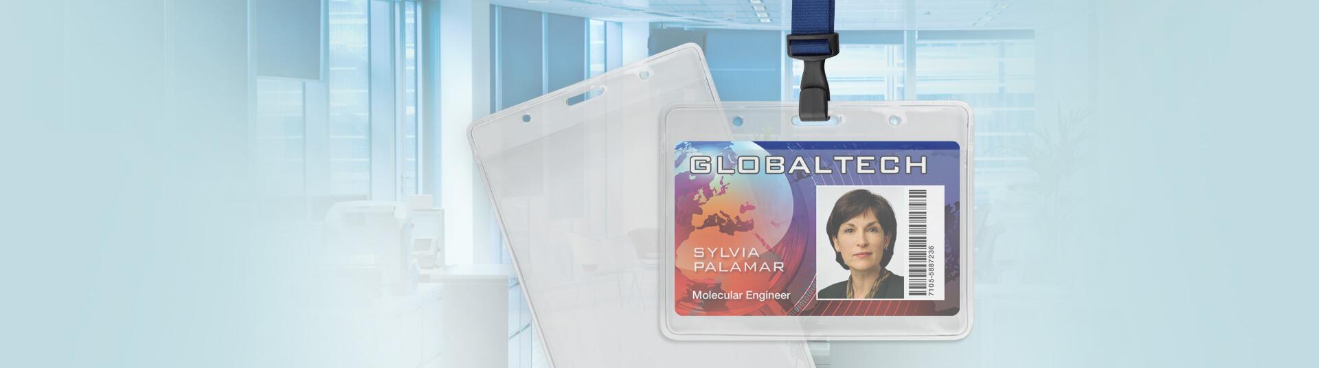 Standard Clear Badge Holders