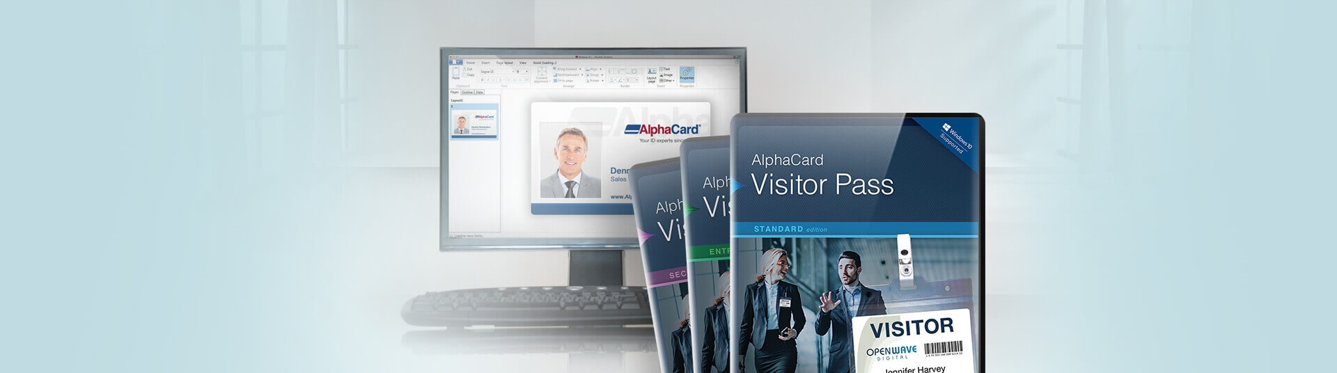 Visitor Pass Software