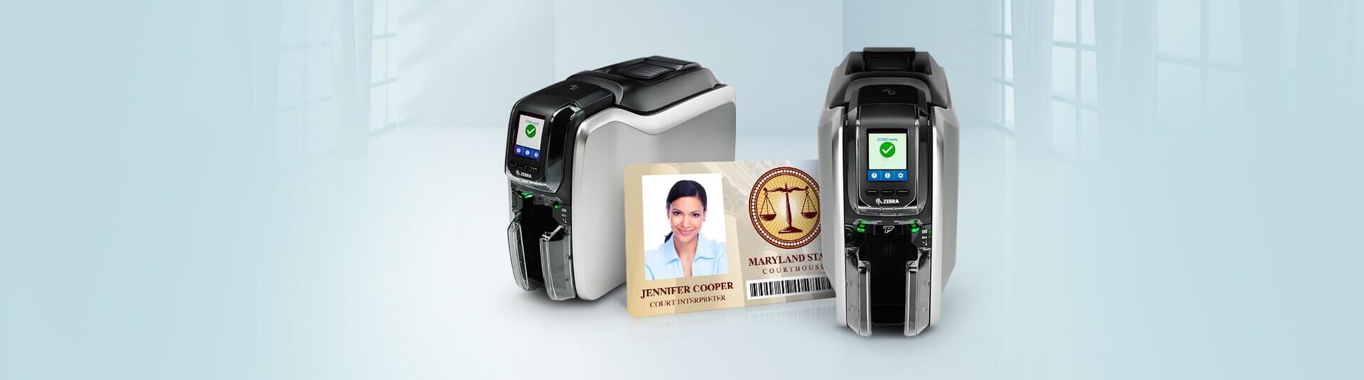 Zebra ZC300 ID Card Printers