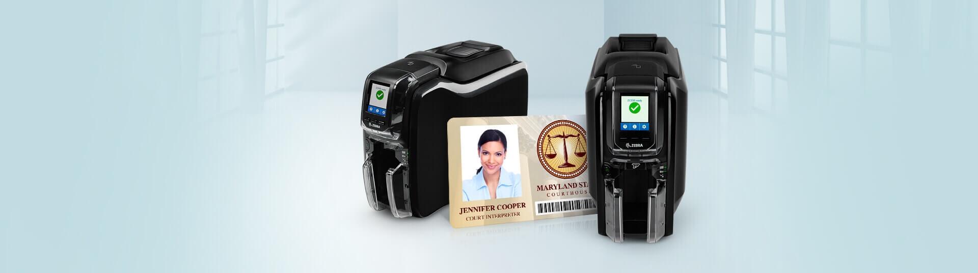 Zebra ZC350 ID Card Printers