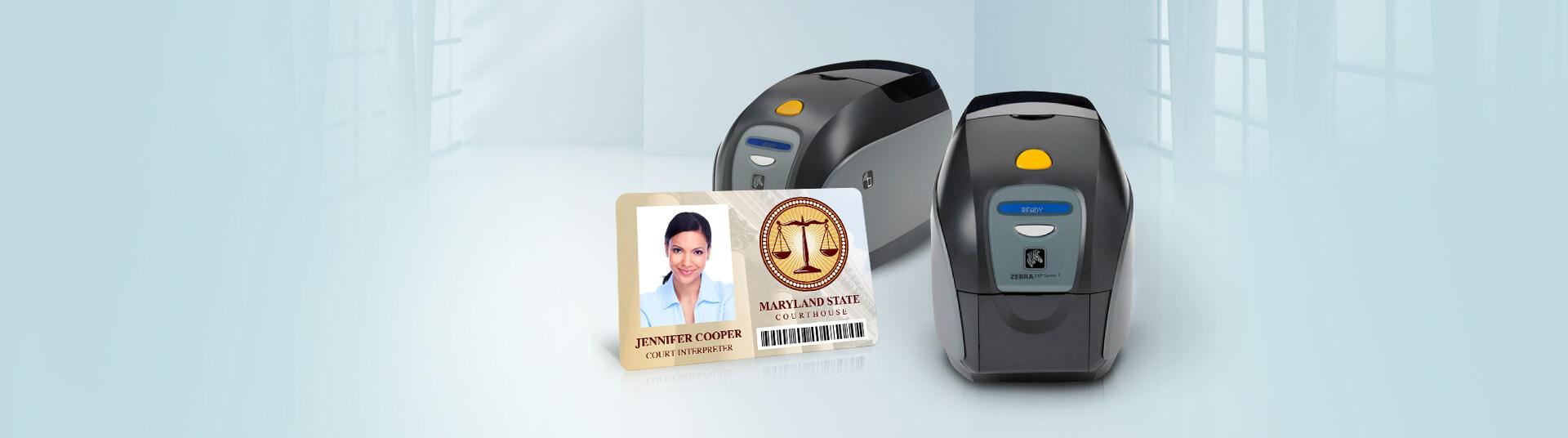 Zebra ZXP Series 1 ID Card Printers