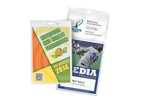 Oversized & Event Badge Holders