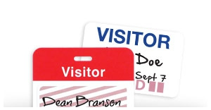 Visitor Badges & Supplies