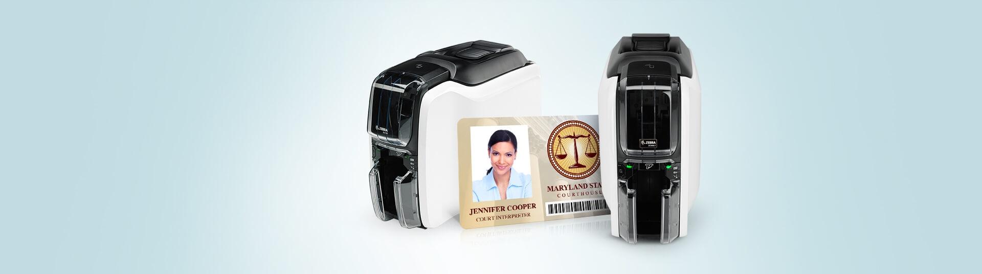Zebra ZC100 LT ID Card Printers