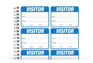 Visitor Signs & Logbooks