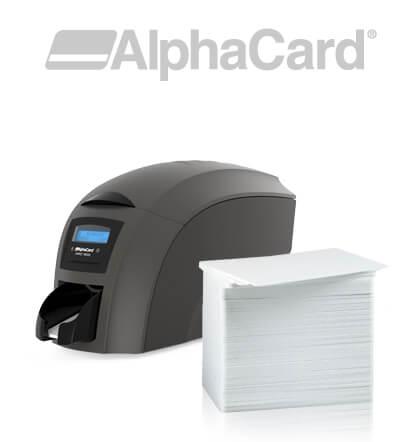 AlphaCard Blank Cards