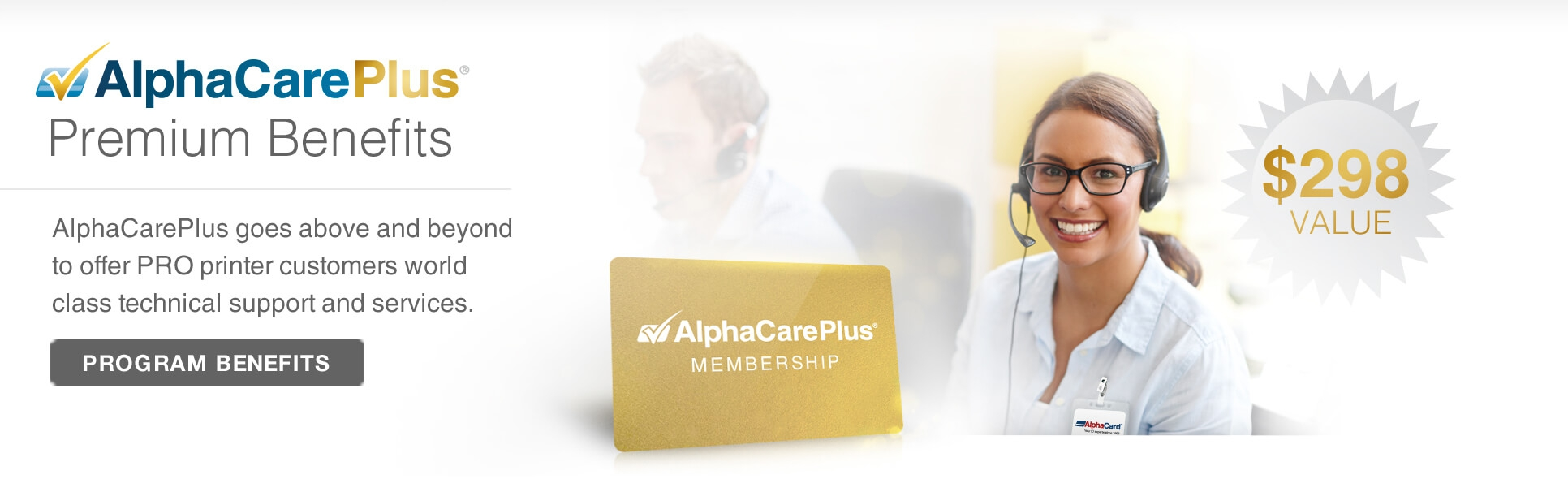 PRO Series AlphaCare Support