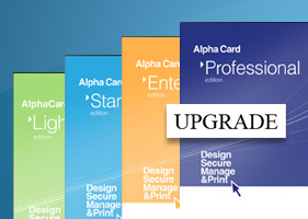 Upgrade for AlphaCard ID Software