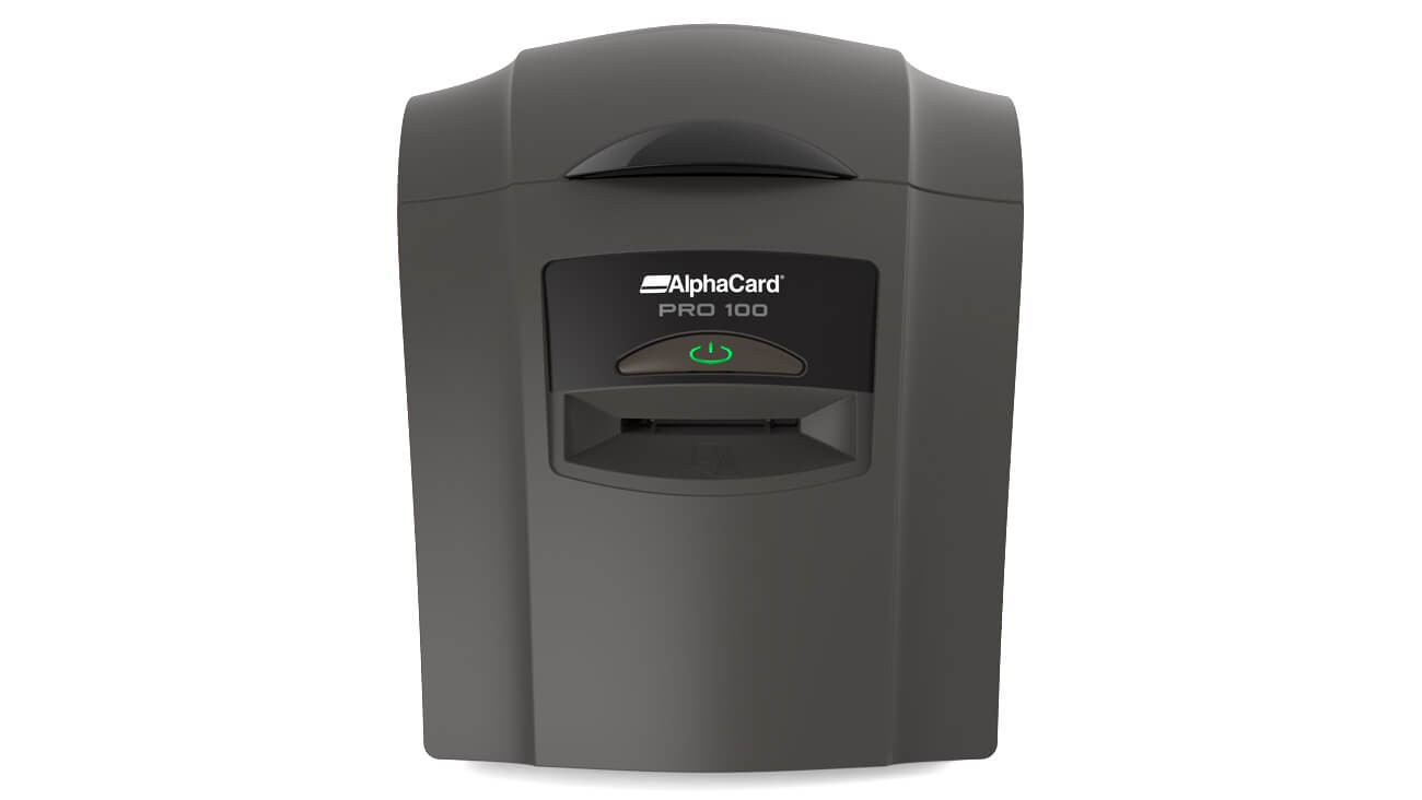 Alphacard Pro 100 Id Card Printer Alphacard