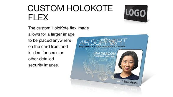 Magicard Custom Holokote Holokote Flex Key For Rio Pro