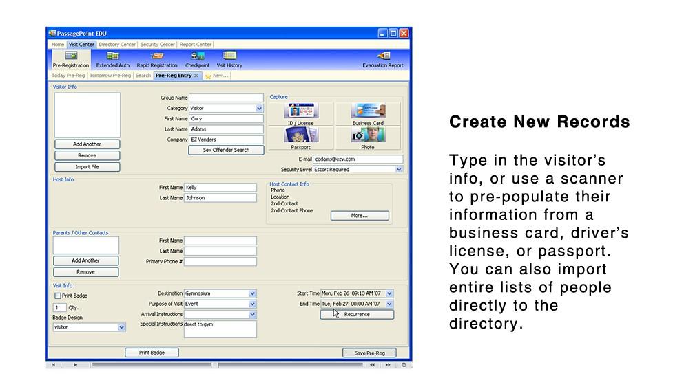 School Visitor Management System Alphacard Com