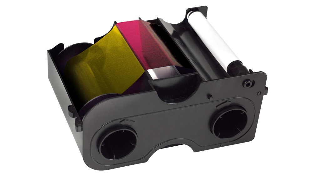 Fargo YMCFKO Fluors Clear Cartridge DTC400 - 200 Prints