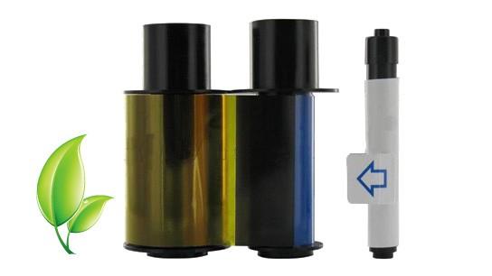 Fargo Refill Ribbon for DTC400 - YMCKO - 250 Prints
