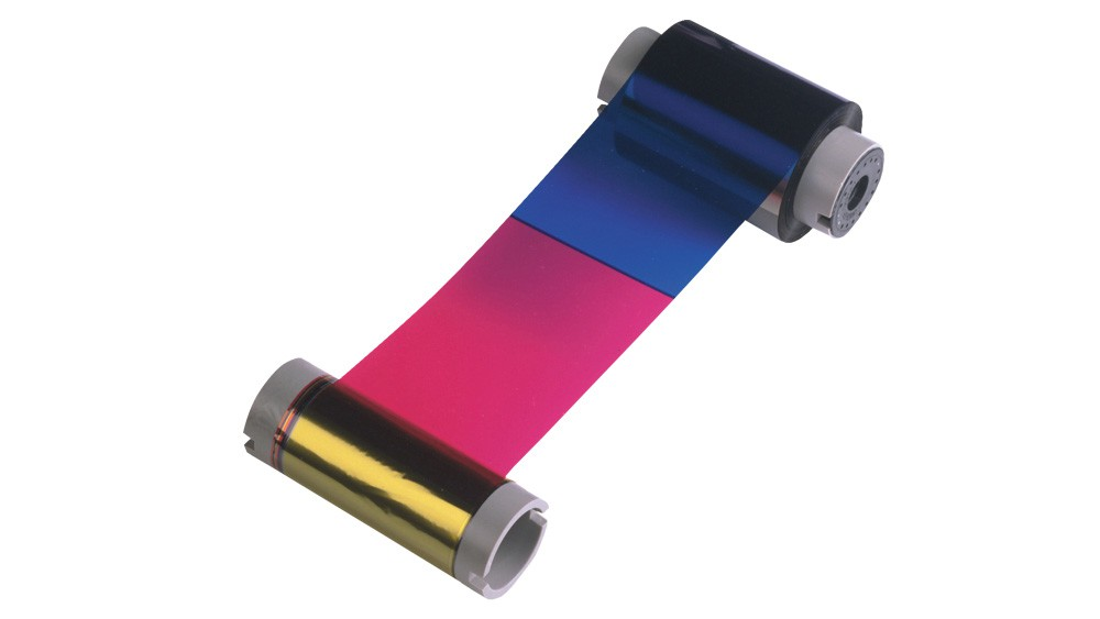Fargo Color Ribbon YMCKK - DTC550 - 500 Print